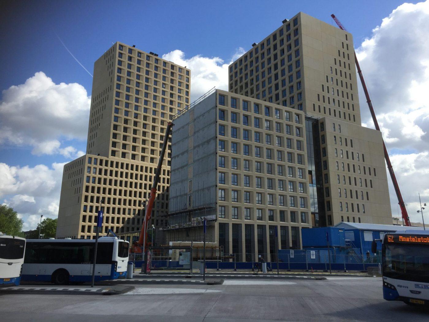 Kuijpers Uitvoering & Advies: montage van architectonische prefab beton 3